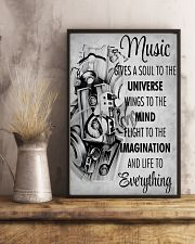 DJ Music gives a soul to the universe 11x17 Poster lifestyle-poster-3