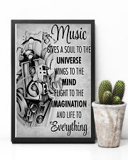 DJ Music gives a soul to the universe 11x17 Poster lifestyle-poster-8