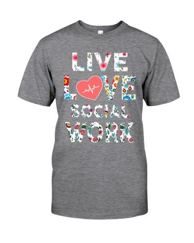 Social Worker Live Love Social Work