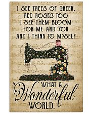 Wonderful World Sewing  11x17 Poster front