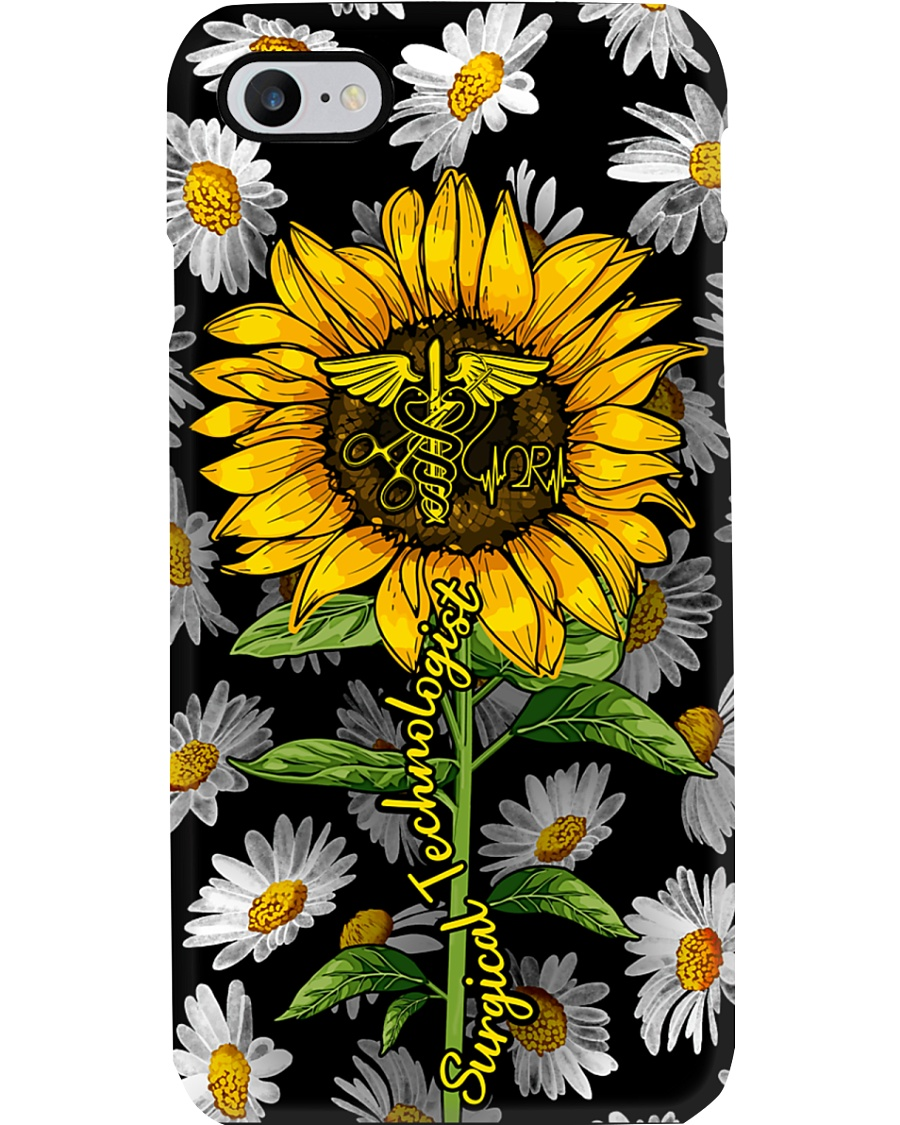 Surgical Technologist Daisy Sunflower Phone Case