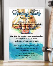 Massage Therapist Healing Hands 24x36 Poster lifestyle-poster-4