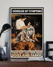 Sewing More Dogs And Fabric 11x17 Poster lifestyle-poster-2