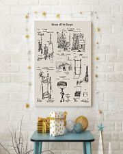 Firefighter Means of Fire Escape 16x24 Poster lifestyle-holiday-poster-3