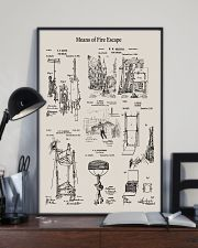 Firefighter Means of Fire Escape 16x24 Poster lifestyle-poster-2