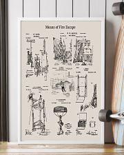 Firefighter Means of Fire Escape 16x24 Poster lifestyle-poster-4