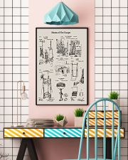 Firefighter Means of Fire Escape 16x24 Poster lifestyle-poster-6