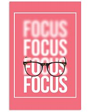 Optometrist Focus  11x17 Poster front