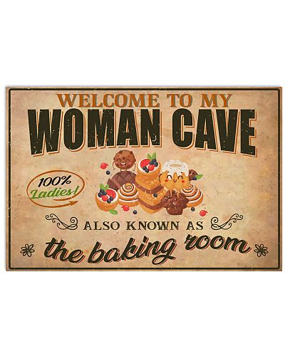 Baker Welcome To My Woman Cave