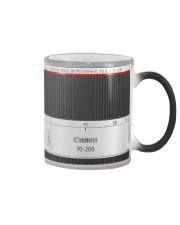 Camera Lens Photographer Color Changing Mug thumbnail