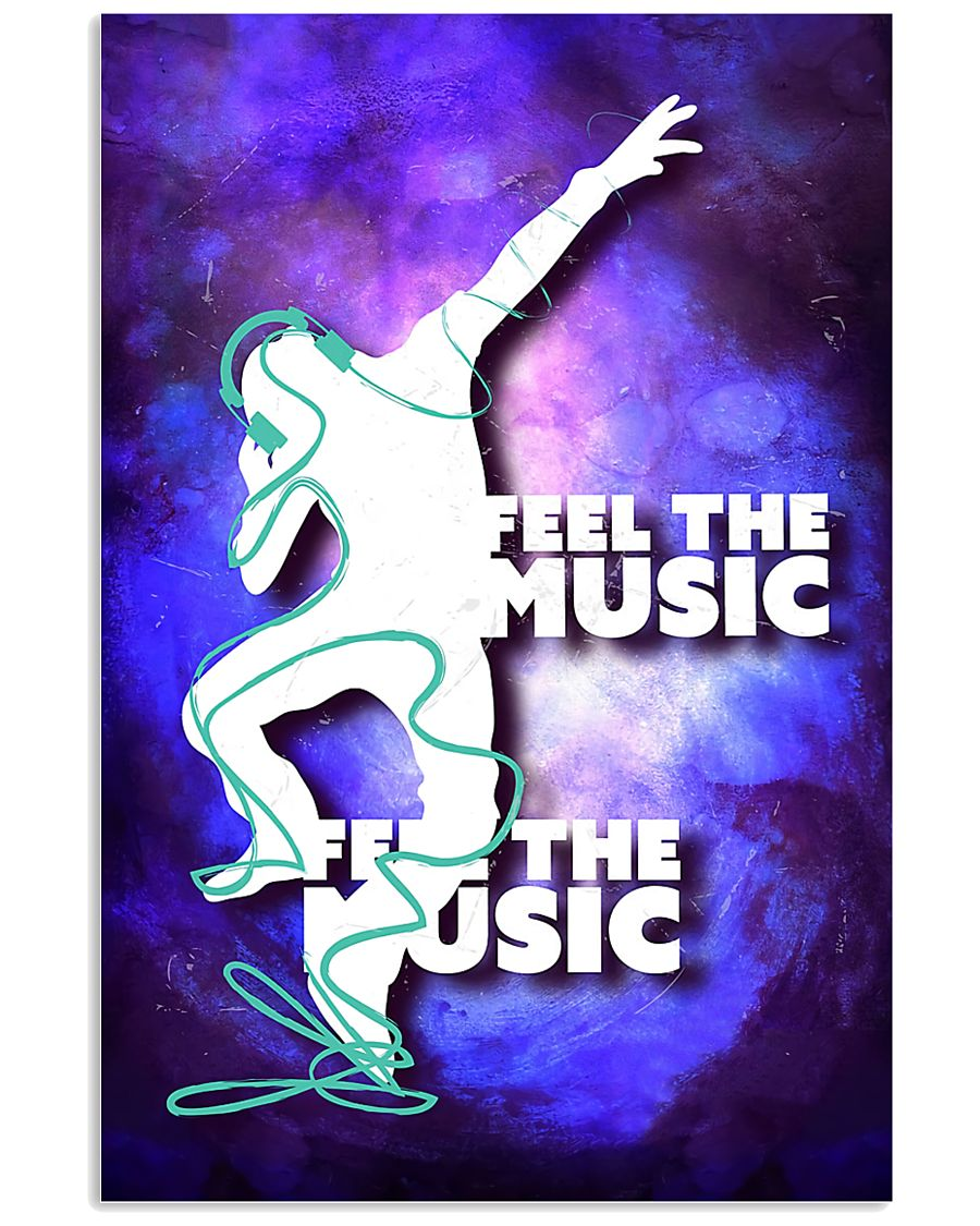 DJ Feel the music 11x17 Poster