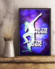 DJ Feel the music 11x17 Poster lifestyle-poster-3