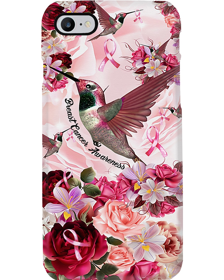 Breast Cancer Bird Phone Case