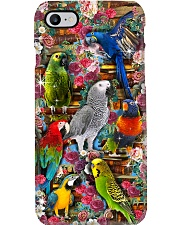 Parrots and Books Phone case Phone Case i-phone-8-case