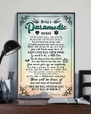 Being a paramedic means 11x17 Poster lifestyle-poster-2
