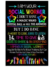 Social Worker I am here for you Poster  11x17 Poster front