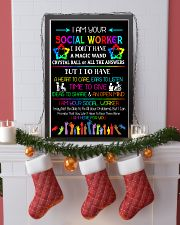 Social Worker I am here for you Poster  11x17 Poster lifestyle-holiday-poster-4