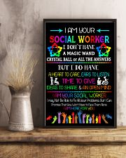 Social Worker I am here for you Poster  11x17 Poster lifestyle-poster-3