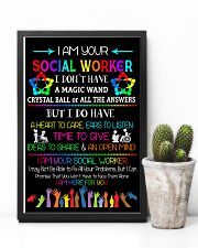 Social Worker I am here for you Poster  11x17 Poster lifestyle-poster-8
