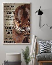 Otters Today Is A Good Day 16x24 Poster lifestyle-poster-1