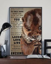Otters Today Is A Good Day 16x24 Poster lifestyle-poster-2