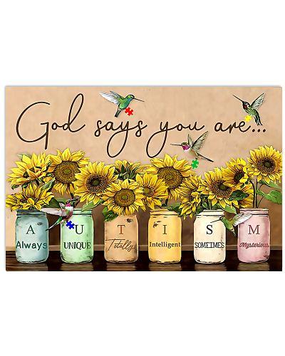 Autism Awareness God Says You Are