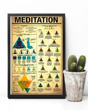 Yoga Meditation 11x17 Poster lifestyle-poster-8