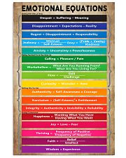 Emotional Equations Teacher 11x17 Poster front