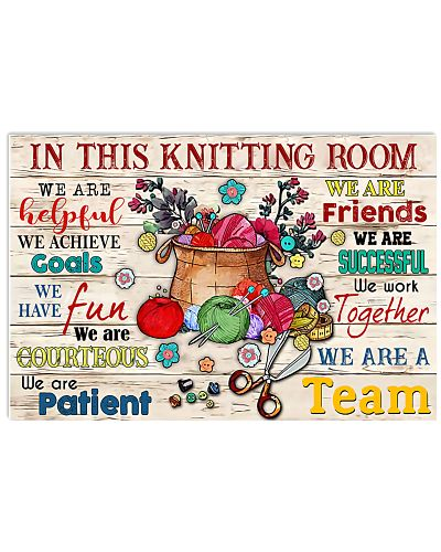 In this Knitting room