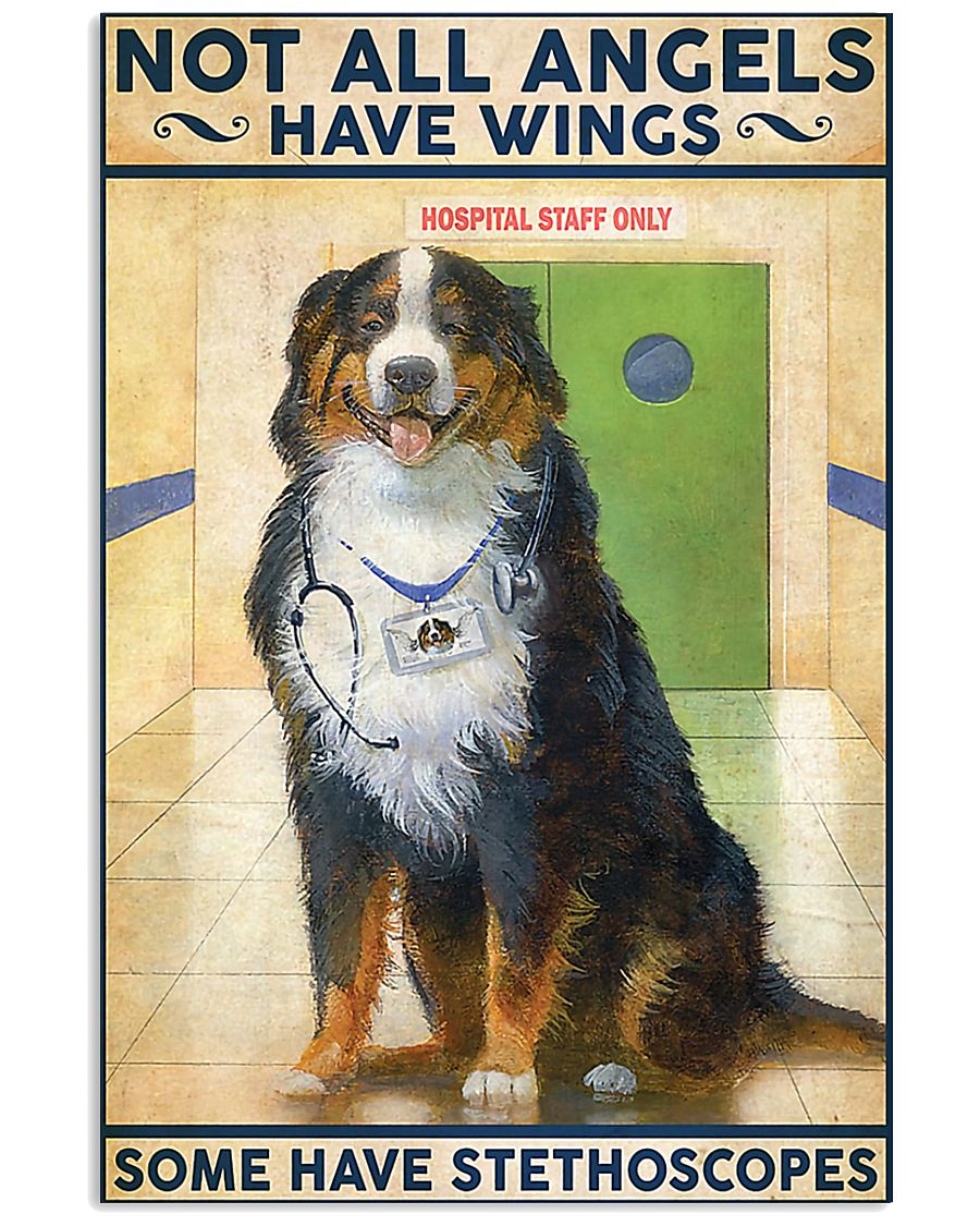 Veterinarian Not All Angels Have Wings 11x17 Poster