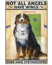 Veterinarian Not All Angels Have Wings 11x17 Poster front
