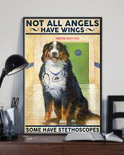 Veterinarian Not All Angels Have Wings 11x17 Poster lifestyle-poster-2
