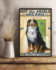 Veterinarian Not All Angels Have Wings 11x17 Poster lifestyle-poster-3