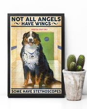 Veterinarian Not All Angels Have Wings 11x17 Poster lifestyle-poster-8