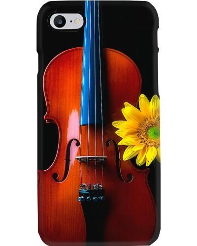 Viola and sunflower