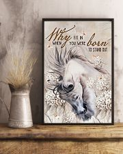 Horse Girl - Why fit in when you were born  11x17 Poster lifestyle-poster-3