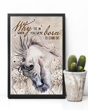 Horse Girl - Why fit in when you were born  11x17 Poster lifestyle-poster-8