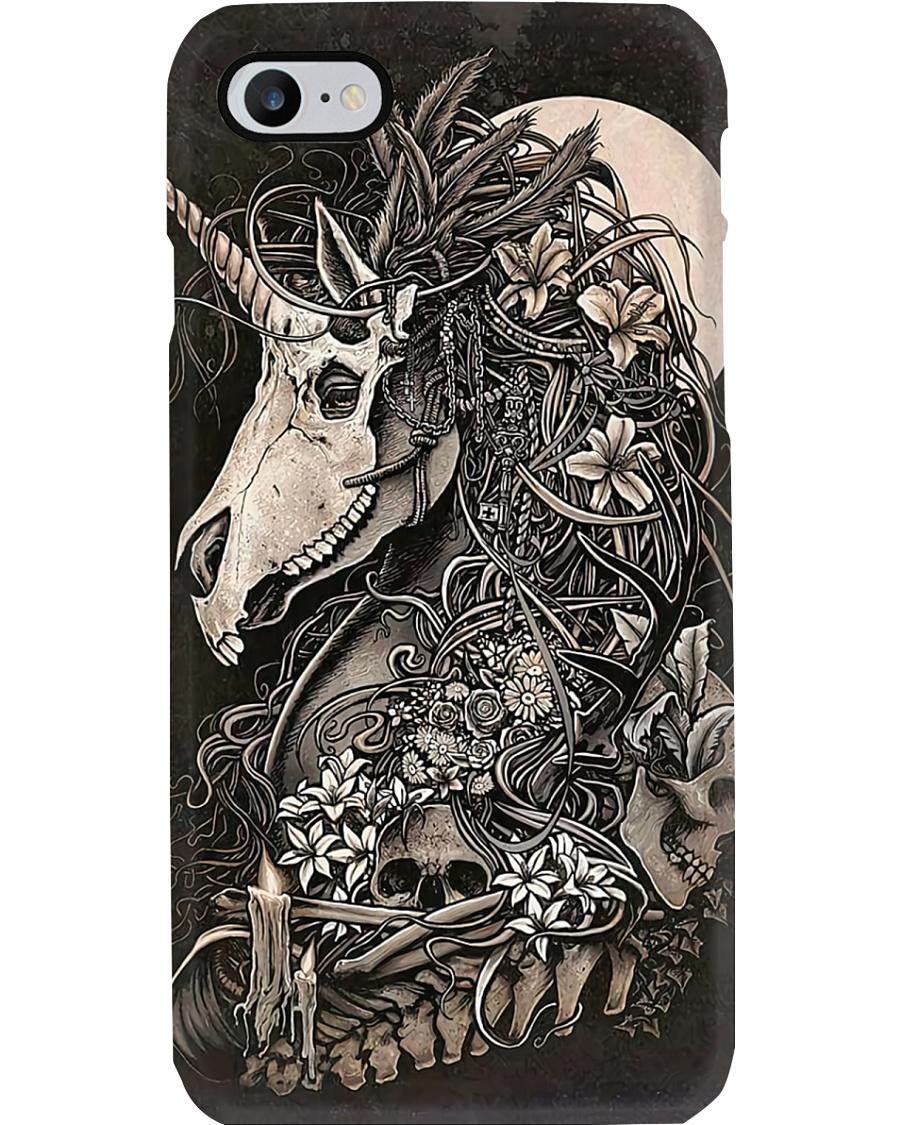 Horse Girl Gift Skull Horse Phone Case