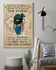 Respiratory Therapist I am the storm 11x17 Poster lifestyle-poster-1