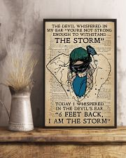 Respiratory Therapist I am the storm 11x17 Poster lifestyle-poster-3