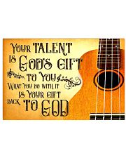 Ukulele Your Talent 17x11 Poster front