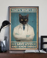 Respiratory Therapist That's What I Do 11x17 Poster lifestyle-poster-2