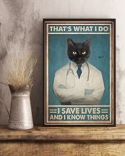 Respiratory Therapist That's What I Do 11x17 Poster lifestyle-poster-3