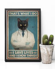 Respiratory Therapist That's What I Do 11x17 Poster lifestyle-poster-8