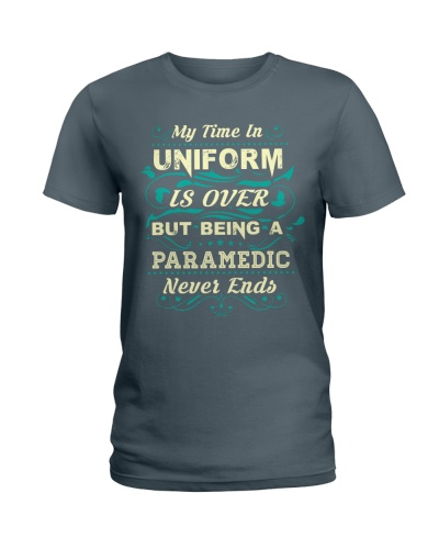 Paramedic My Time In Uniform