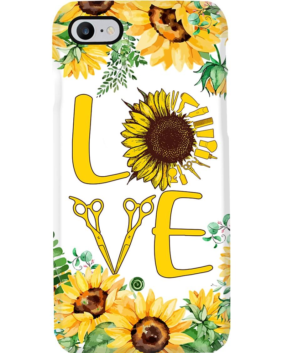 Hairdresser Sunflower Love Phone Case