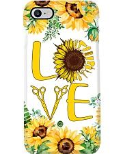Hairdresser Sunflower Love Phone Case i-phone-7-case