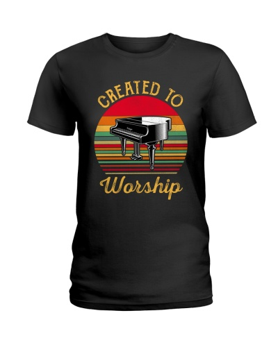 Pianist Created to worship