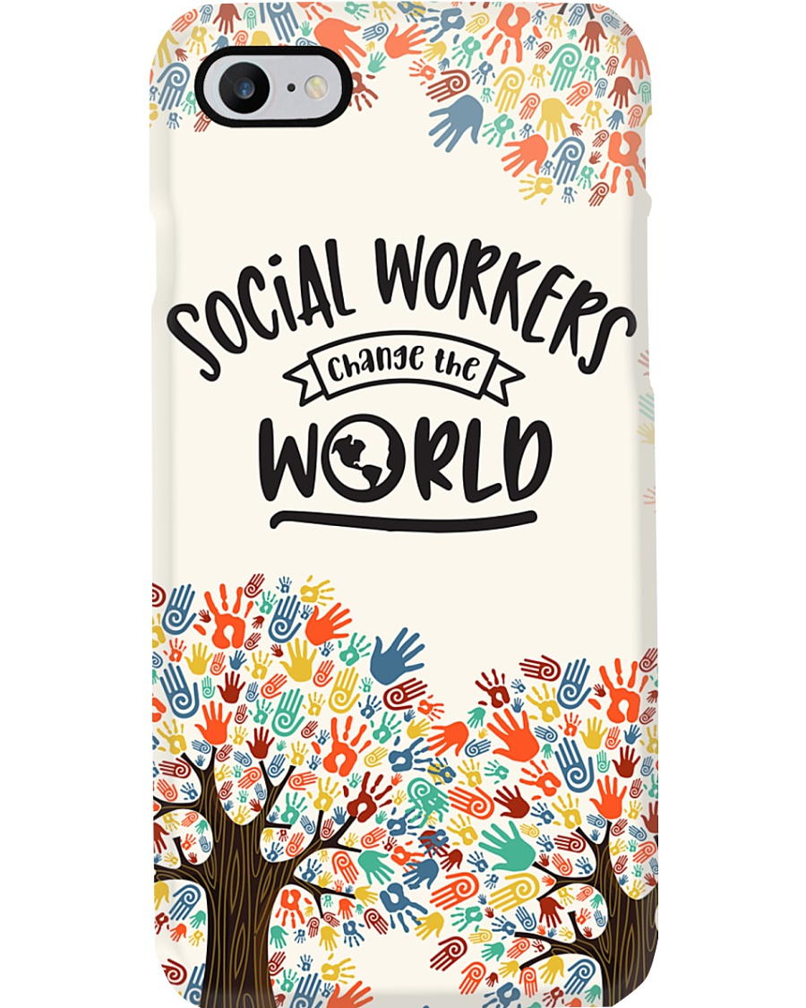 Social Workers Change The World Phonecase Phone Case
