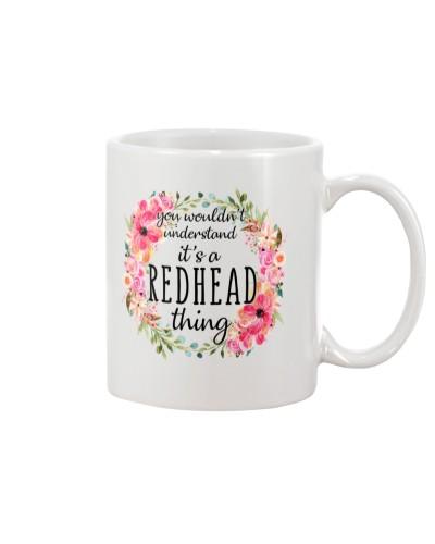Redhead Girl - Unique Mug